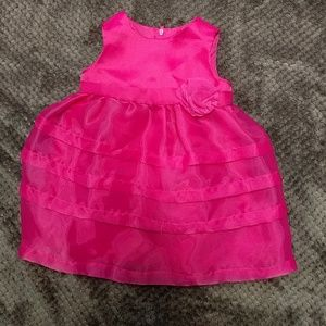 Children's Place | hot pink Easter dress | 9-12m